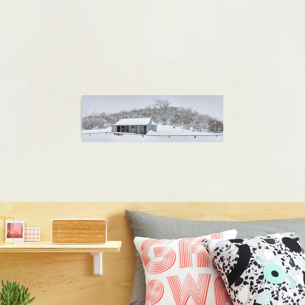 Winter Refuge, Bluff Hut, Alpine National Park, Victoria, Australia Photographic Print