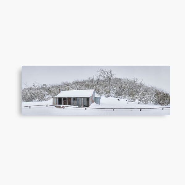 Winter Refuge, Bluff Hut, Alpine National Park, Victoria, Australia Canvas Print