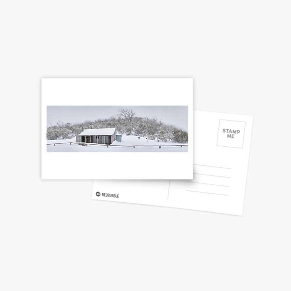 Winter Refuge, Bluff Hut, Alpine National Park, Victoria, Australia Postcard