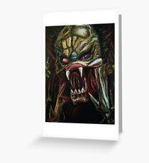 The Predator  Greeting Card