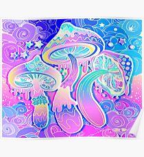 Magische Pilze Poster