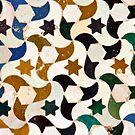 Alhambra azulejos by Sue Frank