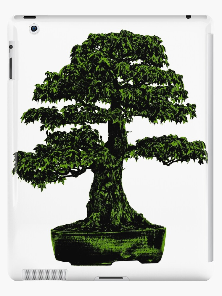 Bonsai Tree In Green Apple 1 Digital Art Ipad Case Skin By Butterflysattic Redbubble