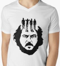 Stanley Kubrick and his droogs! Men's V-Neck T-Shirt