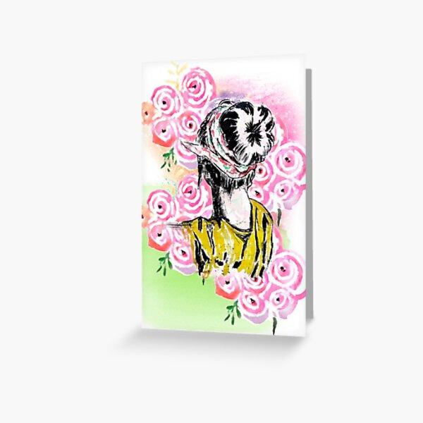 Garden Wanderlust Greeting Card