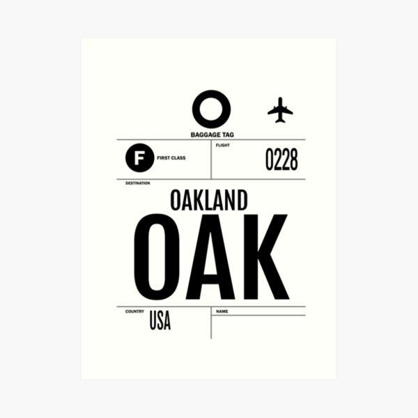 Oakland Rising Art Print