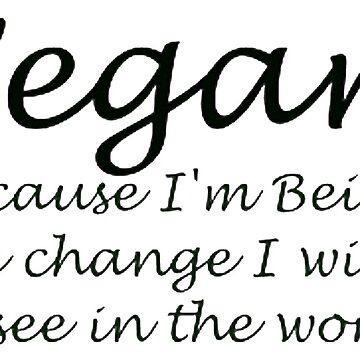 Vegan  by lrspann1