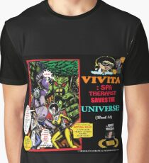 "Vivita: Spa Therapist Saves The Universe? ""Book Preview"" Cover Pop-Art Graphic T-Shirt"