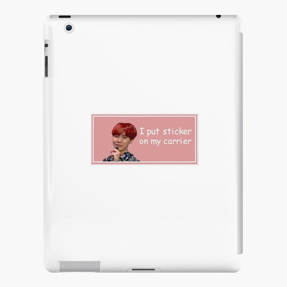 J-Hope Aufkleber iPad-Hüllen & Klebefolien