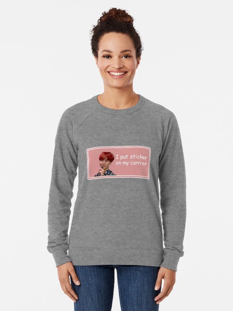 Alternative Ansicht von J-Hope Aufkleber Leichter Pullover