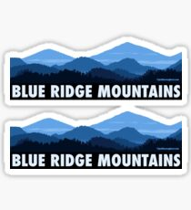Pegatina Blue Ridge Mountains