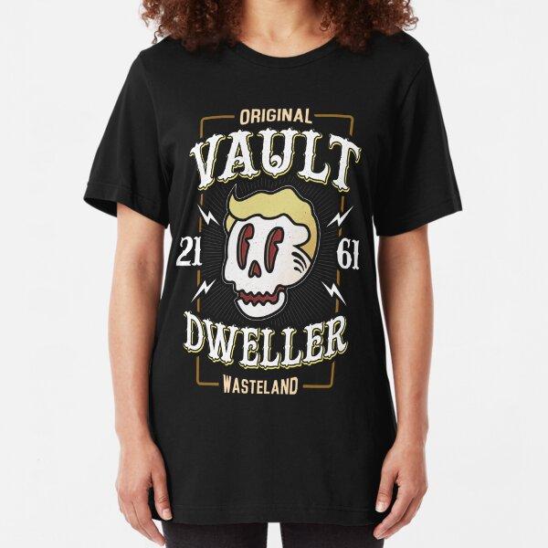 Original Vault Dweller - Wasteland Society Slim Fit T-Shirt