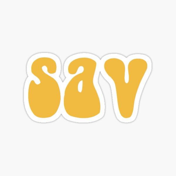 sav!  Sticker