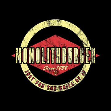 Fat Monolith Burger by CCCDesign