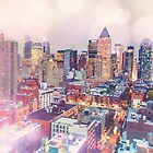 New York City Evening - All Those Lights by Vivienne Gucwa