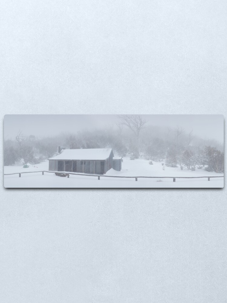 Alternate view of Snow Storm, Bluff Hut, Alpine National Park, Victoria, Australia Metal Print