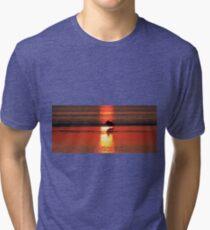 Sunrise Silhouette Tri-blend T-Shirt