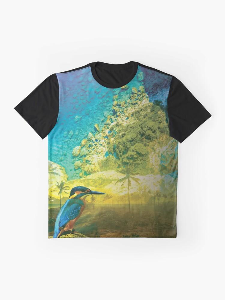 Alternative Ansicht von Karibik Grafik T-Shirt