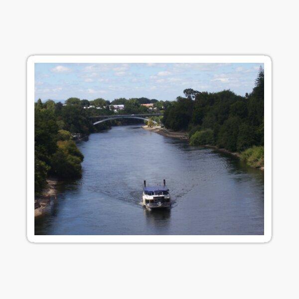 Waikato River, New Zealand Aotearoa Sticker