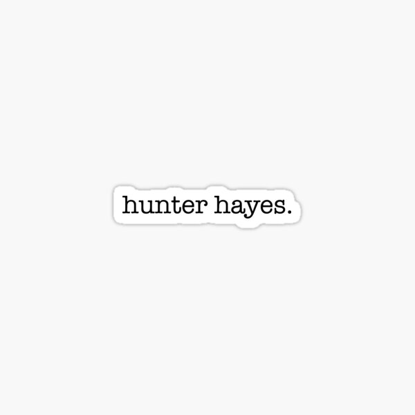 hunter hayes Sticker