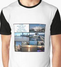 Cruise around Australia 2018 Graphic T-Shirt