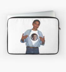 Barack Obama and Napoleon Dynamite Laptop Sleeve