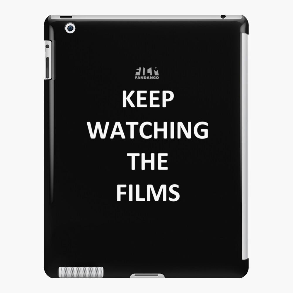 """Keep Watching the Films"" - WHITE iPad Case & Skin"