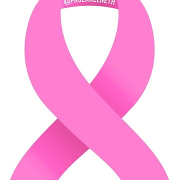 Breast Cancer Awareness Simple Ribbon Design by PaolaAzeneth
