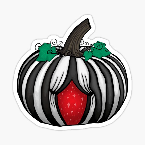 Magic Circus Pumpkin  Sticker