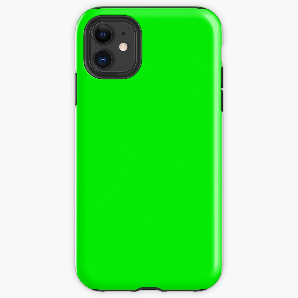 Neon Green iPhone Case & Cover