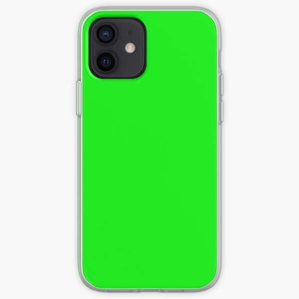 Neon Green iPhone Soft Case