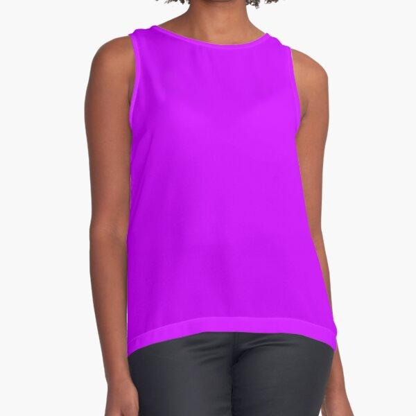 Neon Purple Sleeveless Top