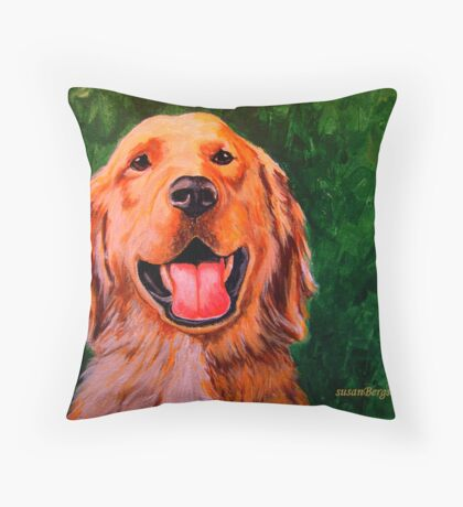 Forever Golden #2 Throw Pillow
