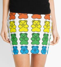 Gummy Bear Rainbow Mini Skirt