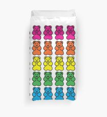 Gummy Bear Rainbow Duvet Cover