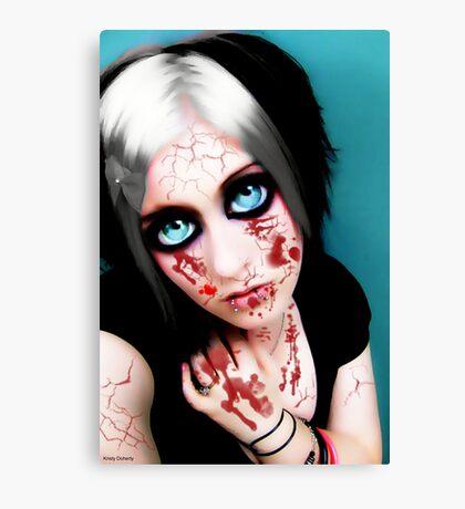 vampire eyes doll 2 Canvas Print