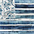 Boho Flag Indigo by mindydidit