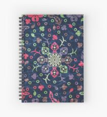 Floral and Leaves Mandala #03 Spiral Notebook