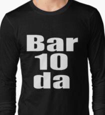 Bartender BAR DA All Sizes Bar Wear husband Long Sleeve T-Shirt