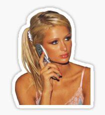 paris on cell Sticker