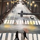 Rainy Street by DeepSpaceAce