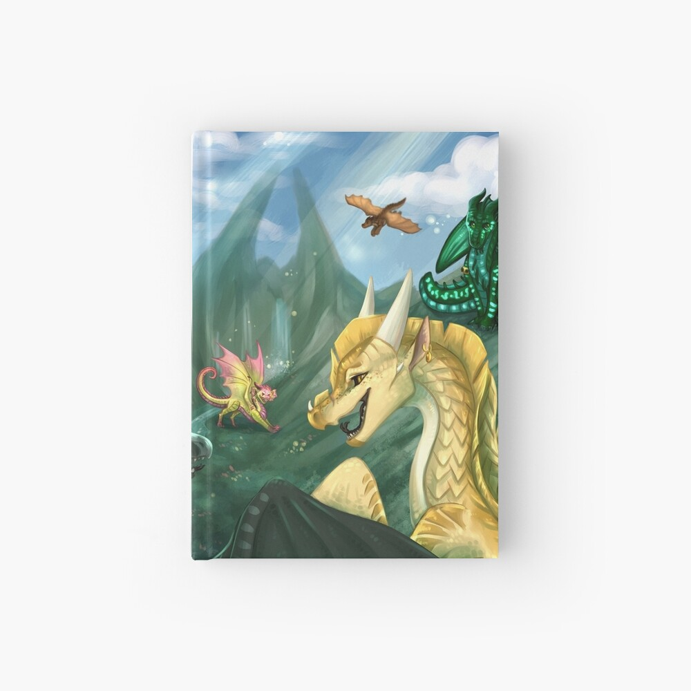 Wings of Fire - Welcome to Jade Mountain Hardcover Journal