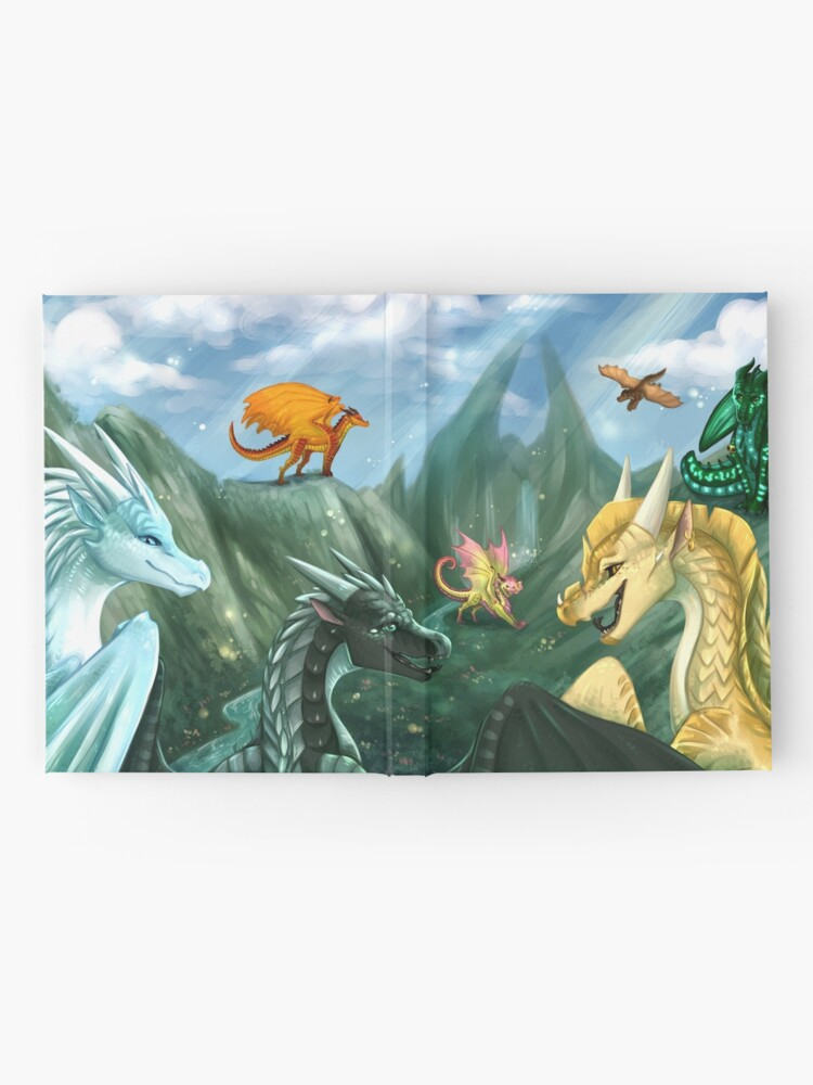 Alternate view of Wings of Fire - Welcome to Jade Mountain Hardcover Journal