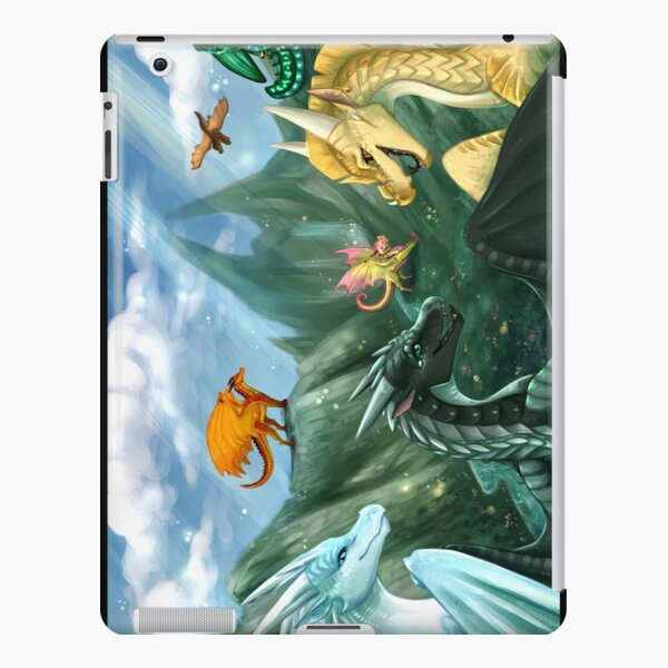 Wings of Fire - Welcome to Jade Mountain iPad Snap Case