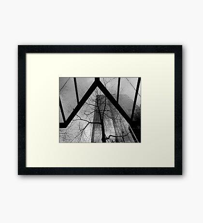 Triangular Framed Print