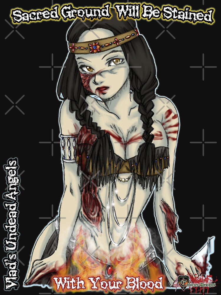 Undead Angels: Zombie Thanksgiving Native American by EnforcerDesigns