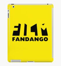 Film Fandango Logo - BLACK iPad Case/Skin
