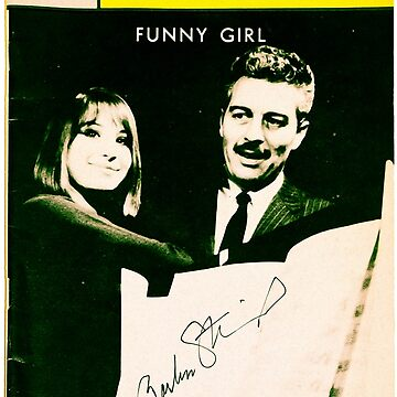 Funny Girl Playbill signed by Barbra Streisand [Mixed Media] by michaelroman