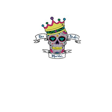 Dia De Los Muertos/Day Of The Dead by leeseylee