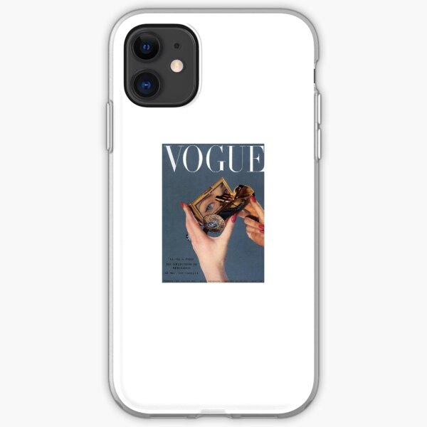 Vintage Vogue  iPhone Soft Case
